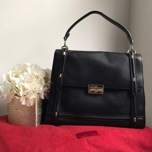 7767bb4f5ee Valentino Garavani Bags | Valentino Histoire Gold Patent Leather ...